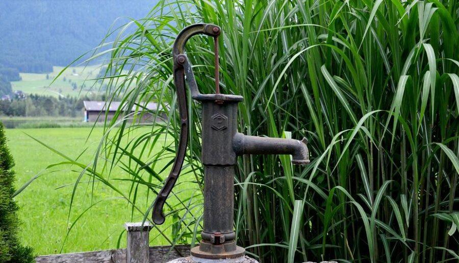 Tiefbrunnen Pumpe